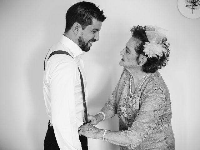 La boda de Rafa y Cristina en Ballesteros De Calatrava, Ciudad Real 9