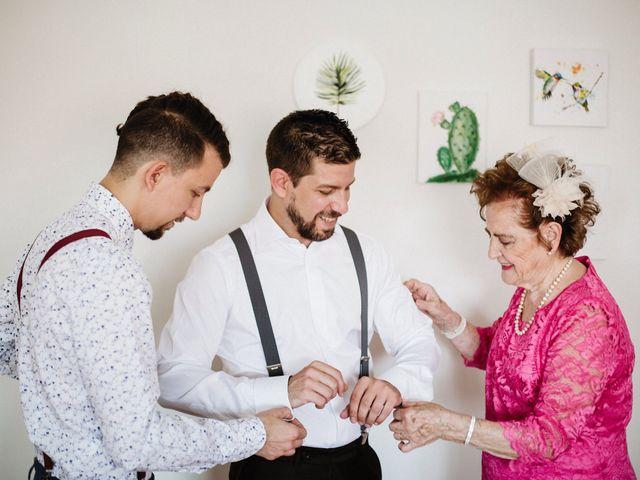 La boda de Rafa y Cristina en Ballesteros De Calatrava, Ciudad Real 10