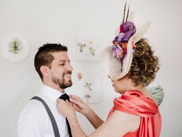 La boda de Rafa y Cristina en Ballesteros De Calatrava, Ciudad Real 12