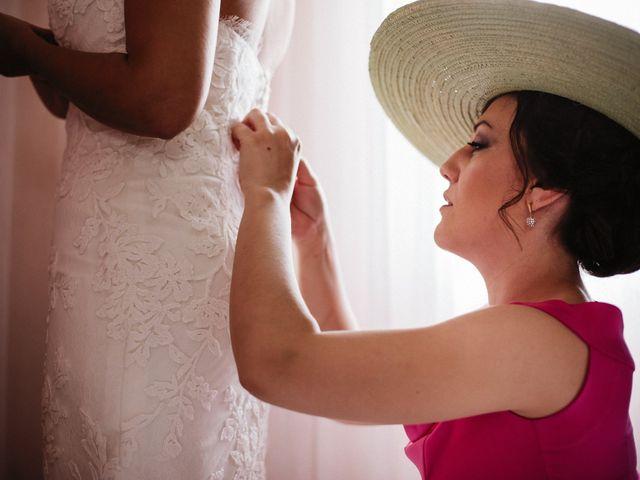 La boda de Rafa y Cristina en Ballesteros De Calatrava, Ciudad Real 36
