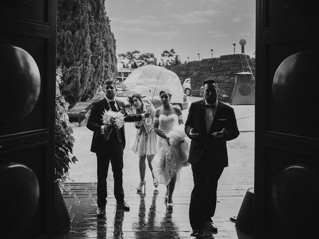 La boda de Rafa y Cristina en Ballesteros De Calatrava, Ciudad Real 85