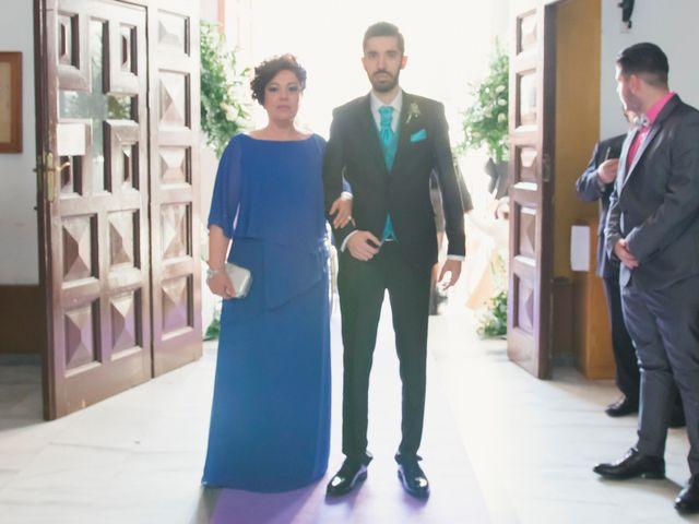 La boda de Enrique y María en Huercal De Almeria, Almería 13