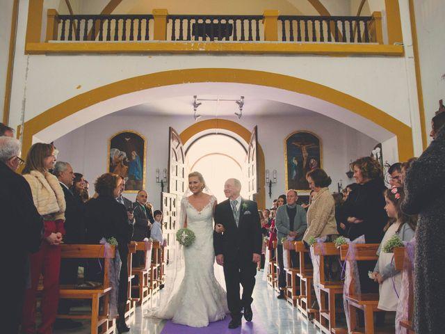 La boda de Enrique y María en Huercal De Almeria, Almería 14