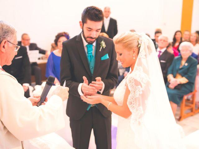La boda de Enrique y María en Huercal De Almeria, Almería 16
