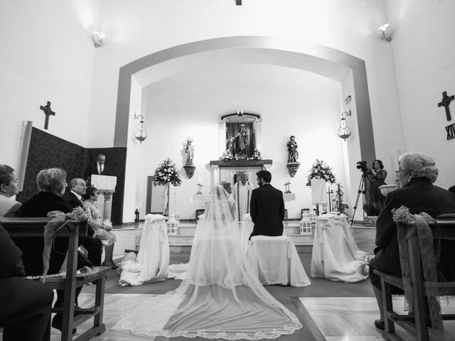 La boda de Enrique y María en Huercal De Almeria, Almería 17