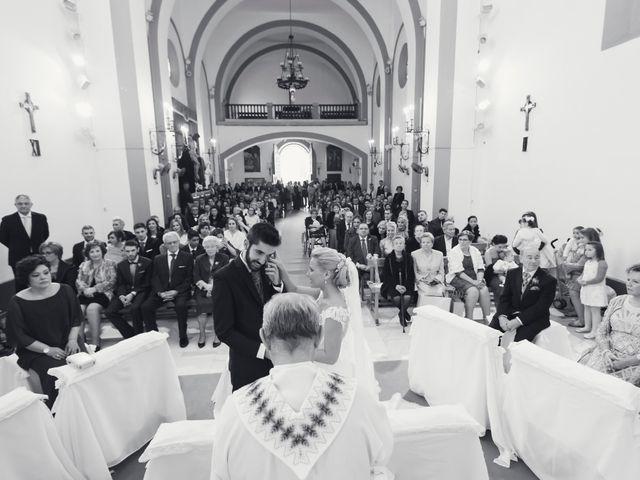 La boda de Enrique y María en Huercal De Almeria, Almería 18