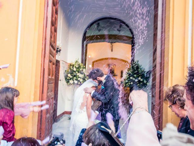 La boda de Enrique y María en Huercal De Almeria, Almería 20
