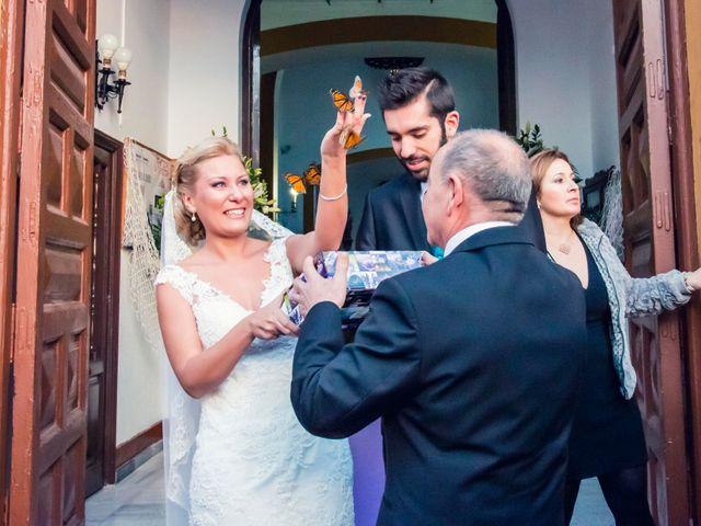 La boda de Enrique y María en Huercal De Almeria, Almería 21