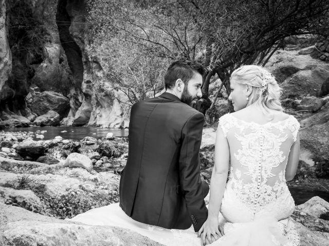 La boda de Enrique y María en Huercal De Almeria, Almería 37