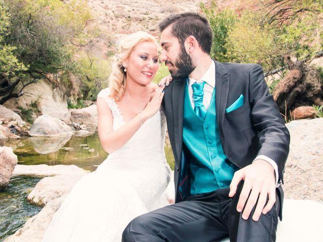 La boda de Enrique y María en Huercal De Almeria, Almería 38