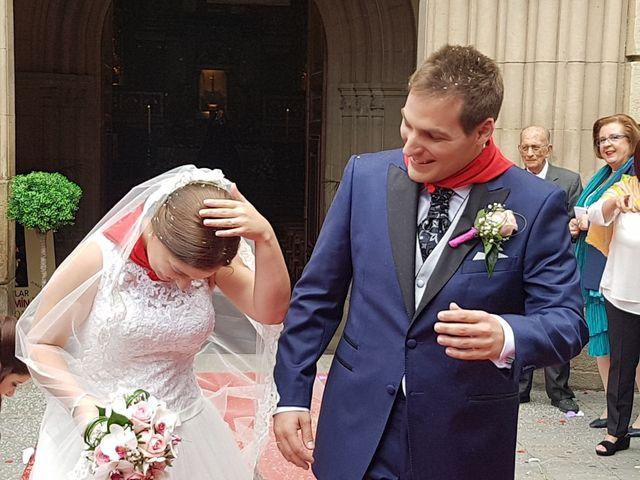 La boda de Aaron y Monica en Pamplona, Navarra 3