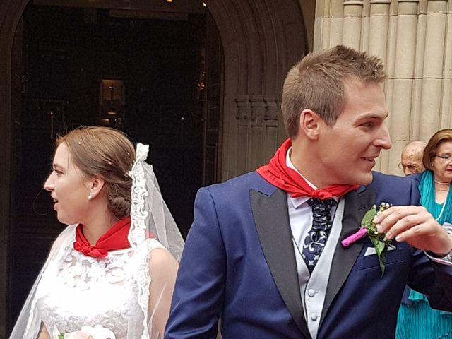 La boda de Aaron y Monica en Pamplona, Navarra 1