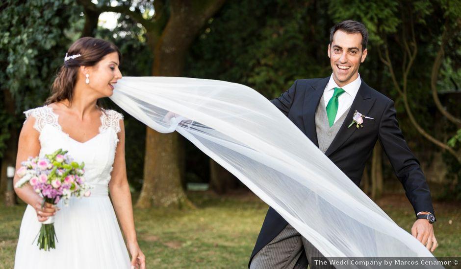 La boda de Rafael y Natalia en Santiago De Compostela, A Coruña