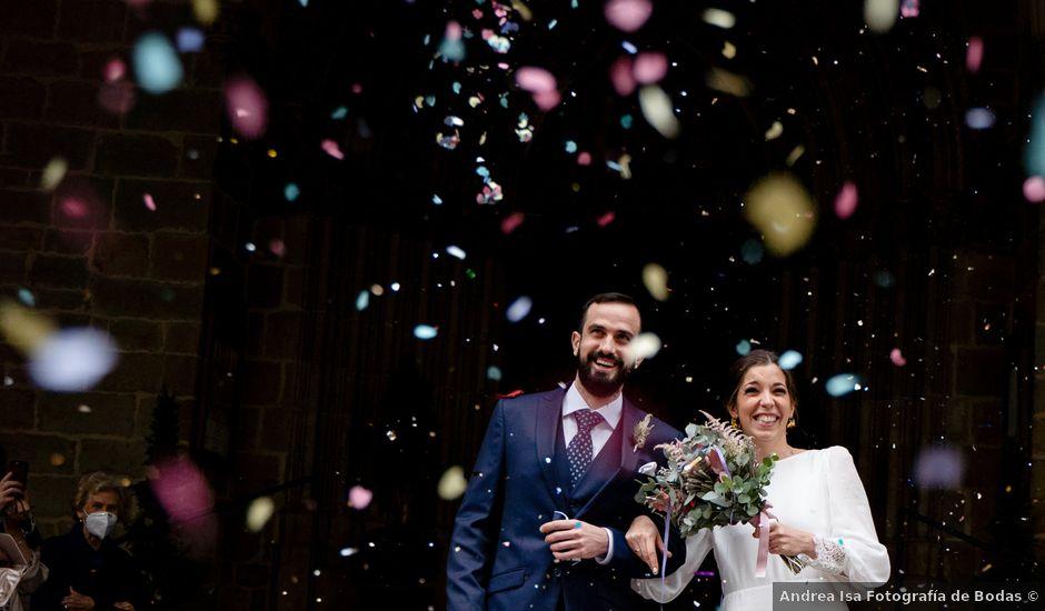 La boda de Javier y Almudena en Pamplona, Navarra