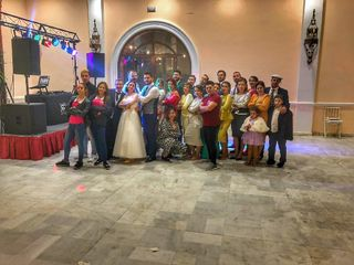La boda de Isaac y Irene 1