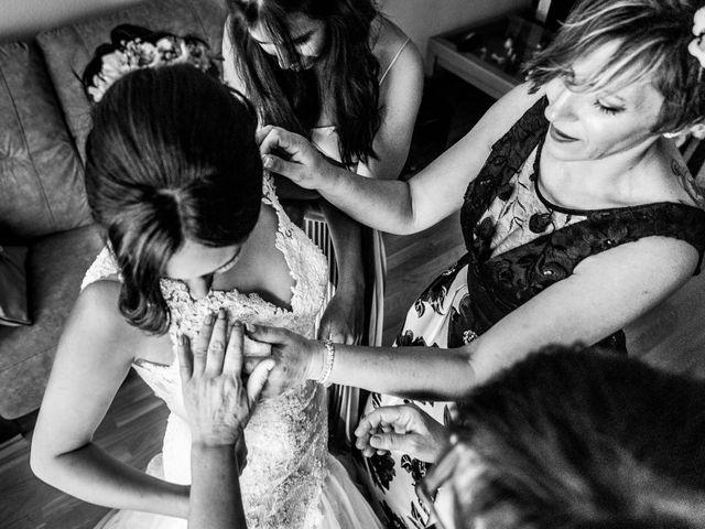 La boda de David y Aroa en Galapagos, Guadalajara 11
