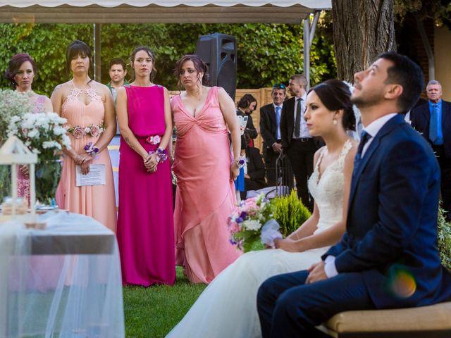 La boda de David y Aroa en Galapagos, Guadalajara 18