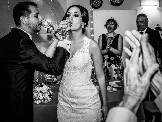 La boda de David y Aroa en Galapagos, Guadalajara 22