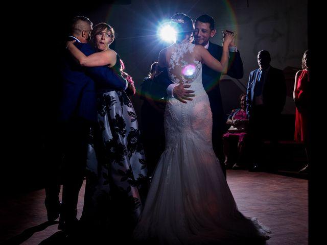 La boda de David y Aroa en Galapagos, Guadalajara 28
