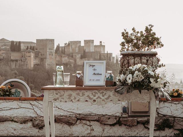 La boda de Jorge y Martina en Otura, Granada 37
