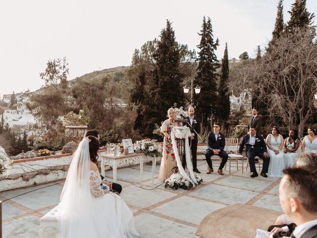 La boda de Jorge y Martina en Otura, Granada 41
