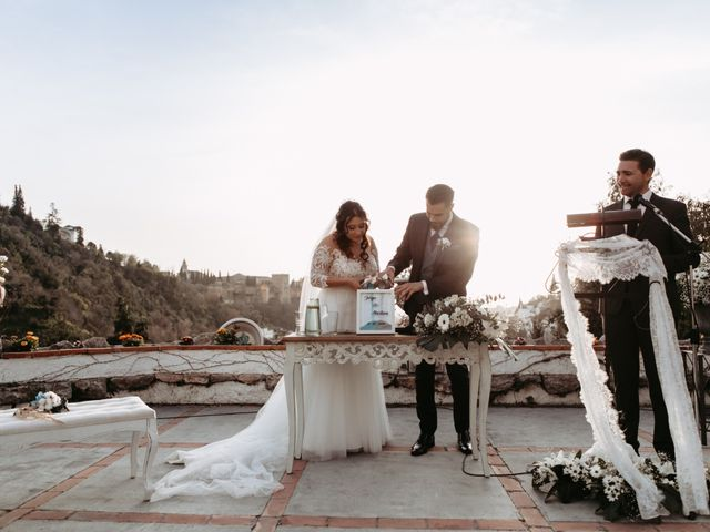 La boda de Jorge y Martina en Otura, Granada 44