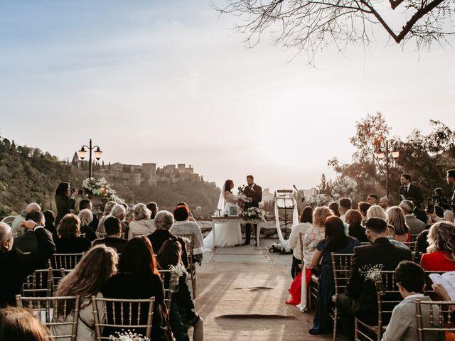 La boda de Jorge y Martina en Otura, Granada 45