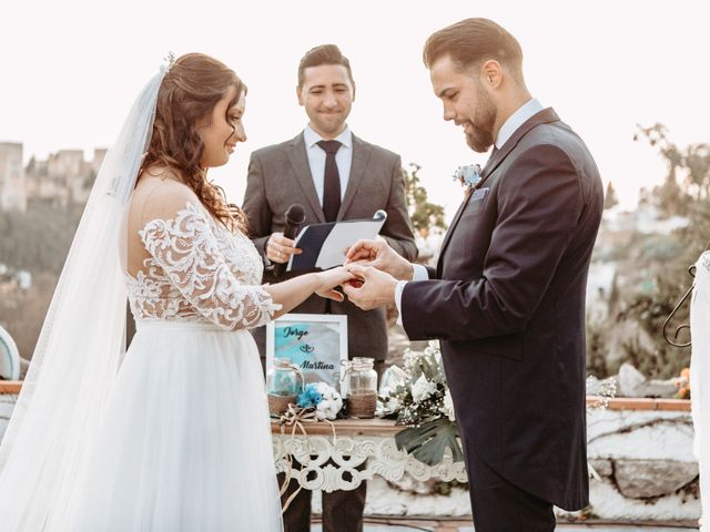 La boda de Jorge y Martina en Otura, Granada 52