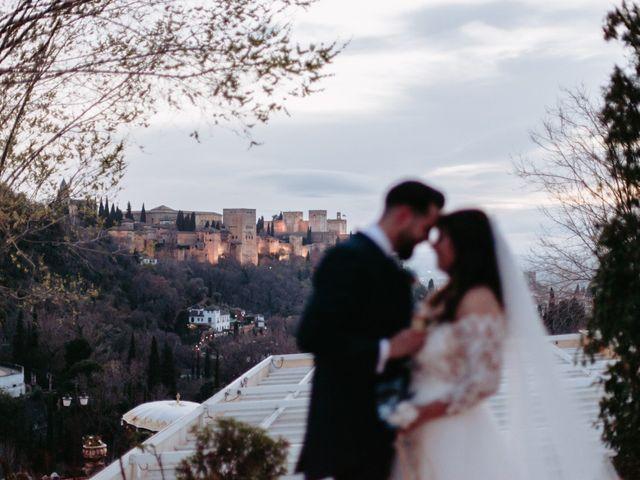 La boda de Jorge y Martina en Otura, Granada 54