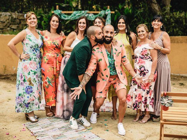 La boda de Alejandro Maria  y Tyron  en Algeciras, Cádiz 73