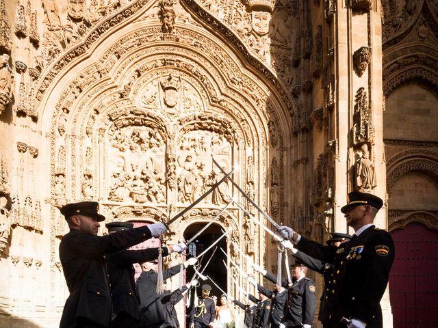 La boda de Juanma y Arancha en Valverdon, Salamanca 15