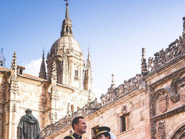 La boda de Juanma y Arancha en Valverdon, Salamanca 17