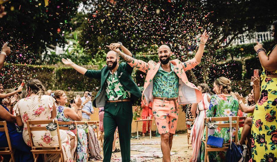 La boda de Alejandro Maria  y Tyron  en Algeciras, Cádiz