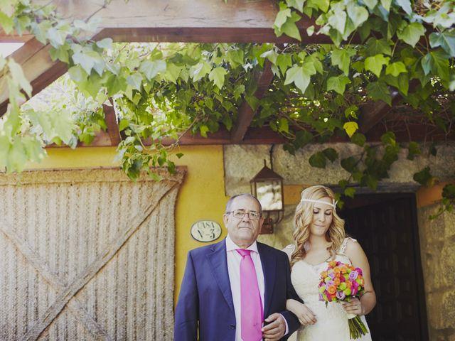 La boda de Javier y Rocío en Navalagamella, Madrid 16