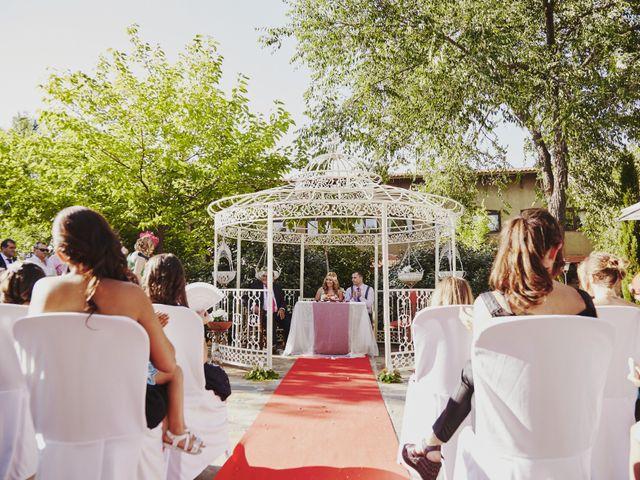 La boda de Javier y Rocío en Navalagamella, Madrid 17