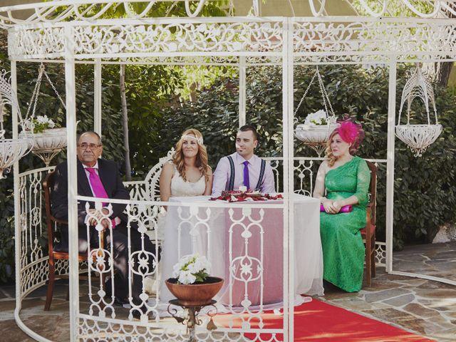 La boda de Javier y Rocío en Navalagamella, Madrid 18