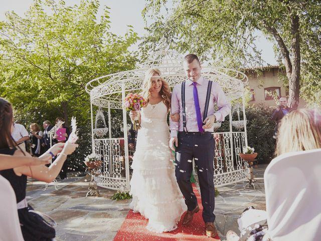 La boda de Javier y Rocío en Navalagamella, Madrid 19
