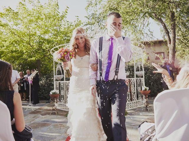 La boda de Javier y Rocío en Navalagamella, Madrid 20