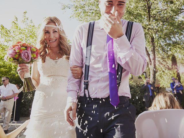 La boda de Javier y Rocío en Navalagamella, Madrid 21