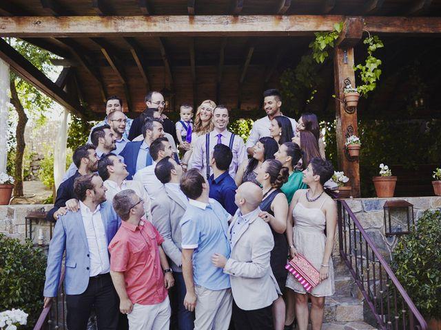 La boda de Javier y Rocío en Navalagamella, Madrid 24