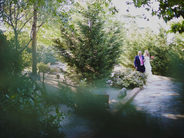 La boda de Javier y Rocío en Navalagamella, Madrid 48