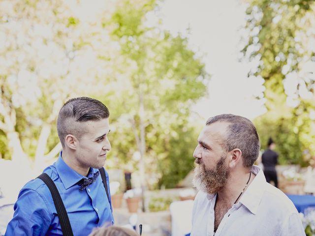 La boda de Javier y Rocío en Navalagamella, Madrid 51