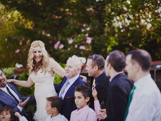 La boda de Javier y Rocío en Navalagamella, Madrid 54