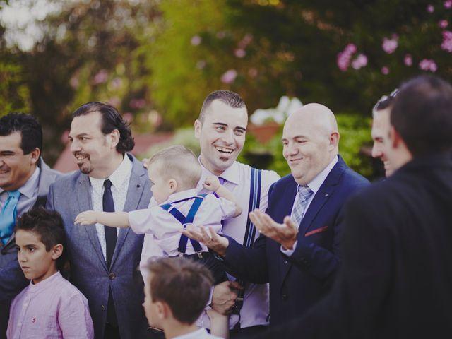 La boda de Javier y Rocío en Navalagamella, Madrid 55
