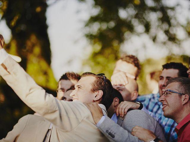 La boda de Javier y Rocío en Navalagamella, Madrid 57