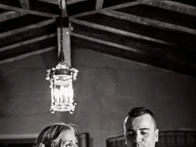 La boda de Javier y Rocío en Navalagamella, Madrid 66