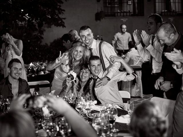 La boda de Javier y Rocío en Navalagamella, Madrid 67