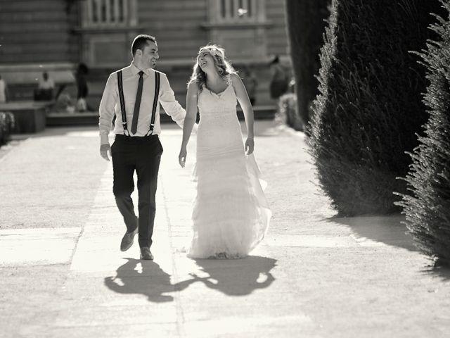 La boda de Javier y Rocío en Navalagamella, Madrid 2