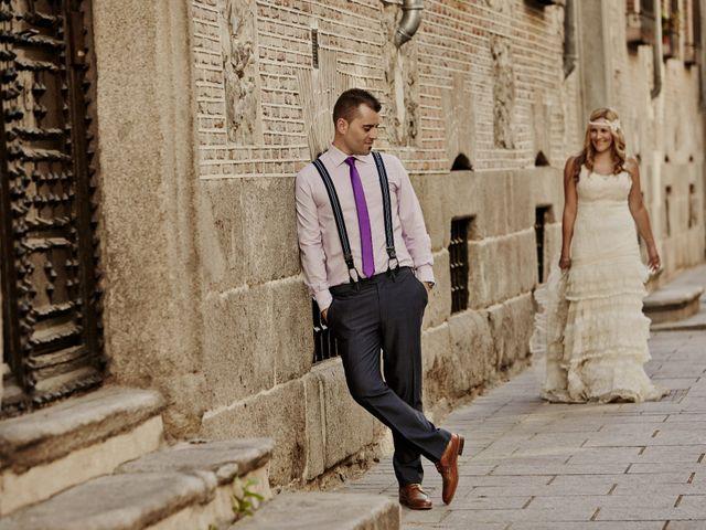La boda de Javier y Rocío en Navalagamella, Madrid 84