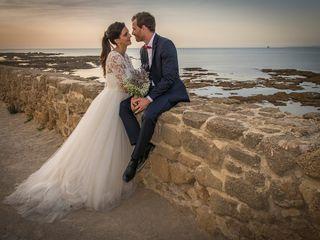 La boda de Victoria y Mathieu